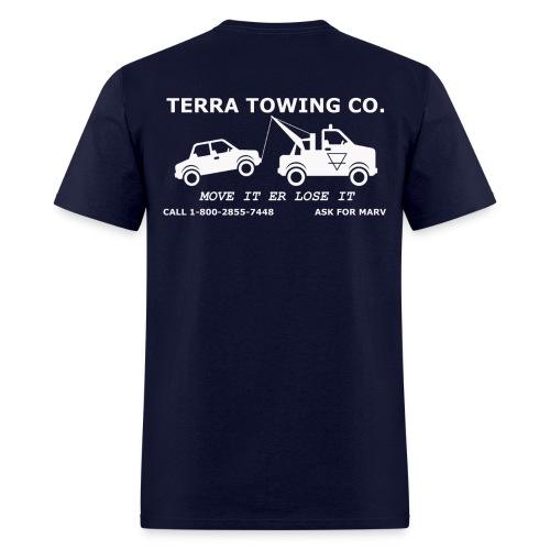 Towing - Men's T-Shirt