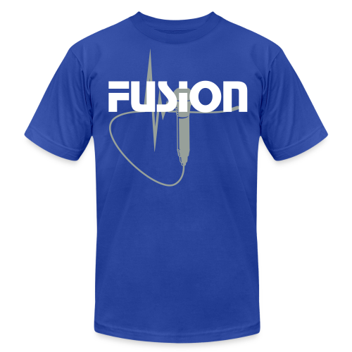 Men's Fusion T-Shirt by American Apparel - Men's Fine Jersey T-Shirt