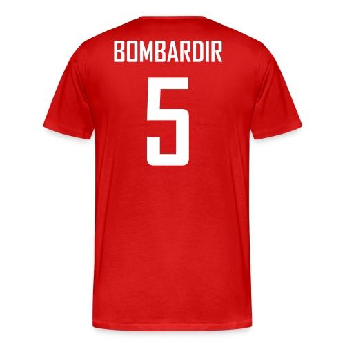 Brad Bombardir #5 Jersey Shirt - Men's Premium T-Shirt