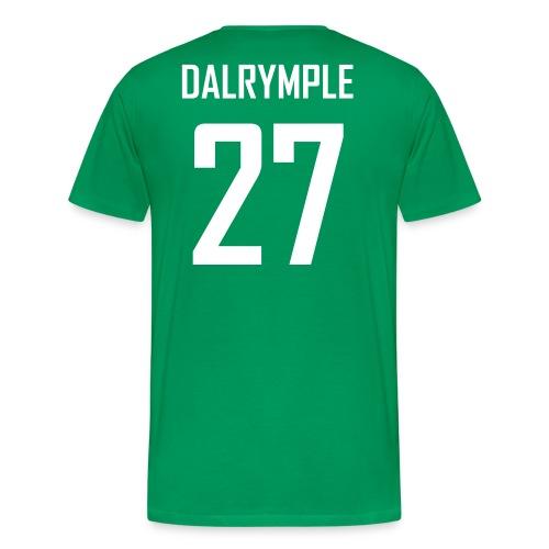 Craig Dalrymple #27 Jersey Shirt - Men's Premium T-Shirt
