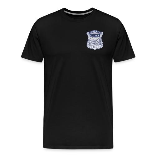 Ashland Massachusetts Police Badge Shirt - Men's Premium T-Shirt