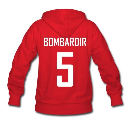 Women's Brad Bombardir Jersey Hoodie - Women's Hoodie