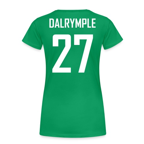 Women's Craig Dalrymple #27 Jersey Shirt - Women's Premium T-Shirt