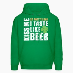 St Patty's Day I taste like beer