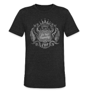 T-Shirts ~ Unisex Tri-Blend T-Shirt ~ Family Crest - Silver
