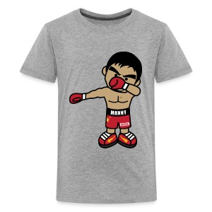 Dabbing Manny Pacquiao By AiReal Apparel - Kids' Premium T-Shirt