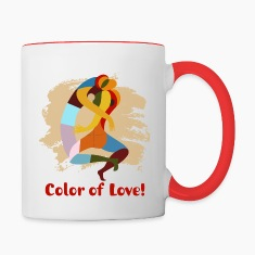 Color of Love - Ceramic Coffee mug!