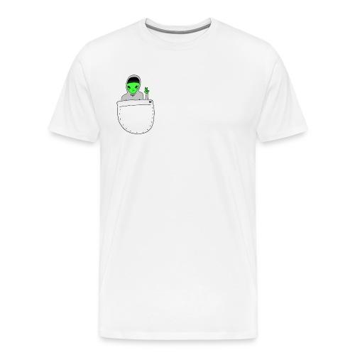 Alien friend - Men's Premium T-Shirt