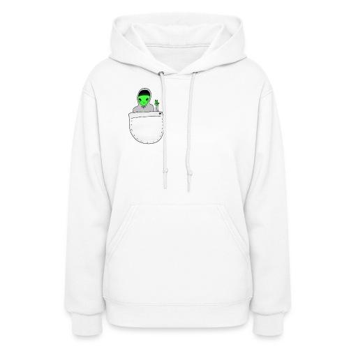 alien friend women's hoodie - Women's Hoodie