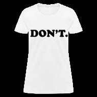 T-Shirts ~ Women's T-Shirt ~ Article 104383389