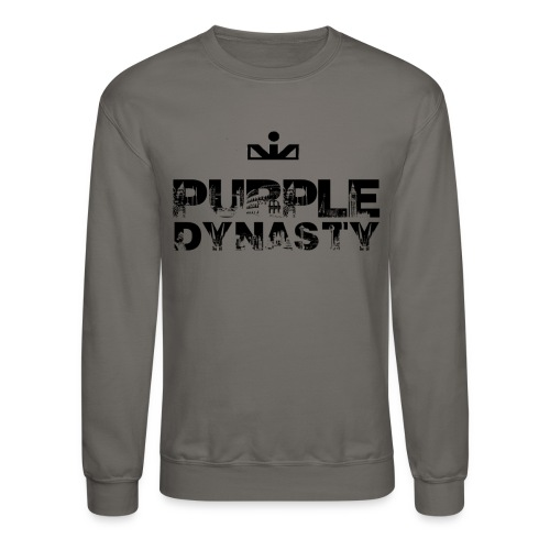 Purple Dynasty Crewneck - Crewneck Sweatshirt
