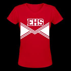 EHS HIGH SCHOOL COSTUME Women V-Neck Top ~ 617