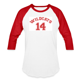 MUSICAL WILDCATS - HIGH SCHOOL COSTUME Red Sleeves Shirt ~ 2210