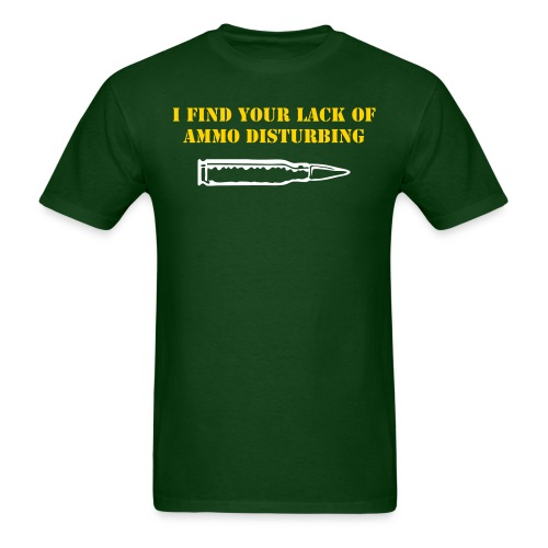 Lack of Ammo - Men's T-Shirt