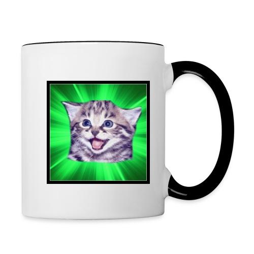 ZAGA CAT MUG - Contrast Coffee Mug