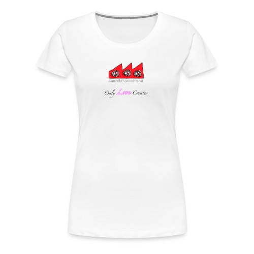 Only Love Creates - Women  - Women's Premium T-Shirt