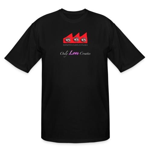 Only Love creates - Men  - Men's Tall T-Shirt