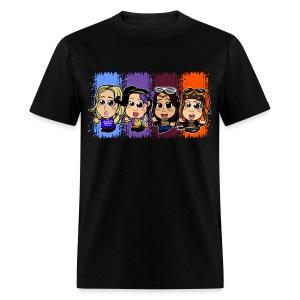 Four Chibi Women (Male) - Men's T-Shirt