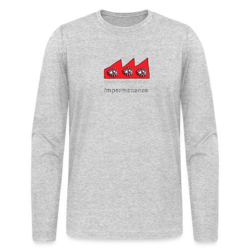 Impermanence - Men - Long Sleeve - Men's Long Sleeve T-Shirt by Next Level