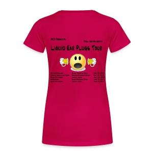HKO Women's 2011 Old School Tour T - Women's Premium T-Shirt