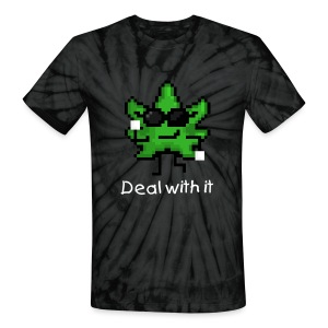 Deal With It Greg Green Tie Dye | T-Shirt - Unisex Tie Dye T-Shirt