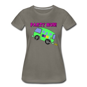 PARTY BUS - WOMENS - Premium Shirt - Women's Premium T-Shirt