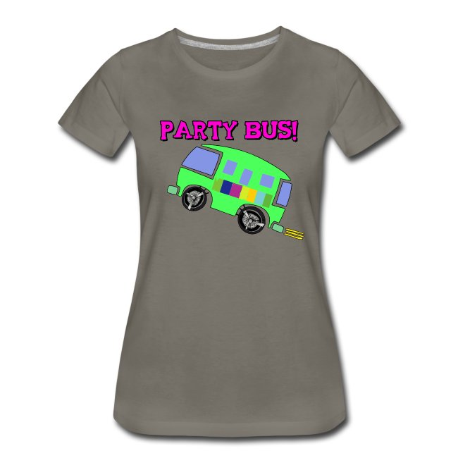 PARTY BUS - WOMENS - Premium Shirt