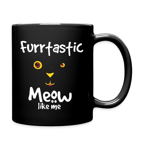 Miauklys Cup Black - Full Color Mug