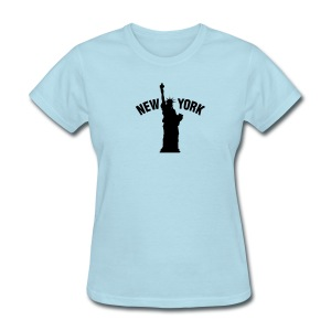 NY Statue of Liberty Women's TShirt - Women's T-Shirt