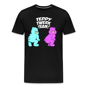 Teddy Twerk Team  - MEN - Premium Shirt - Men's Premium T-Shirt