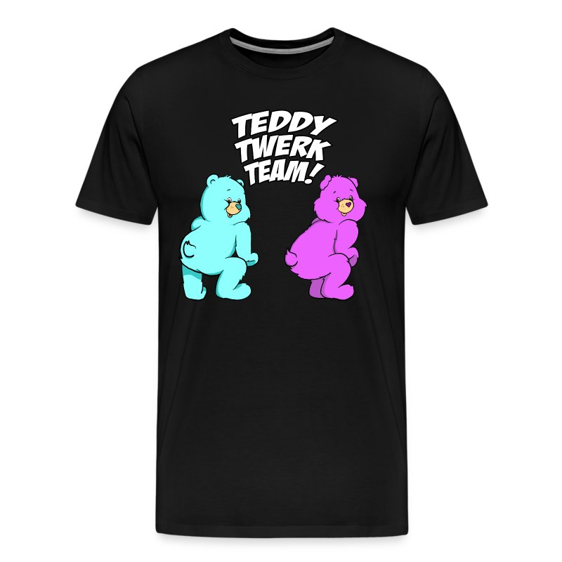 Teddy Twerk Team  - MEN - Premium Shirt - Men's Premium T-Shirt
