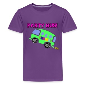 PARTY BUS! KIDS - Kids' Premium T-Shirt