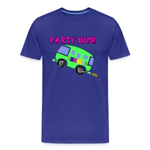PARTY BUS - MENS - Premium Shirt - Men's Premium T-Shirt