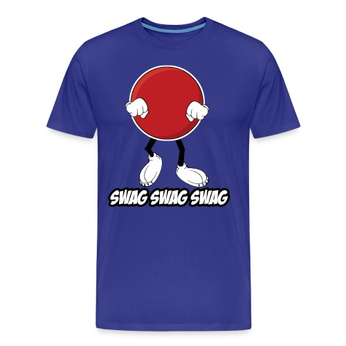 Swag Ball Design #2 - MEN - Men's Premium T-Shirt