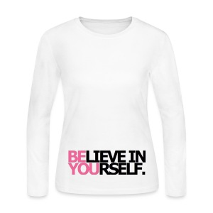 BE YOU LONG SLEEVE T-SHIRT - women - Women's Long Sleeve Jersey T-Shirt