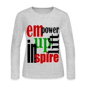 UPLIFT INSPIRE LONG SLEEVE T-SHIRT - women - Women's Long Sleeve Jersey T-Shirt
