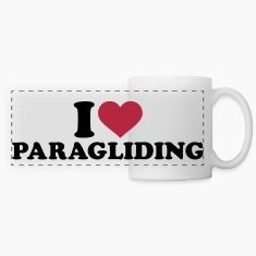 I love Paragliding Mugs & Drinkware