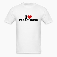 I love Paragliding T-Shirts