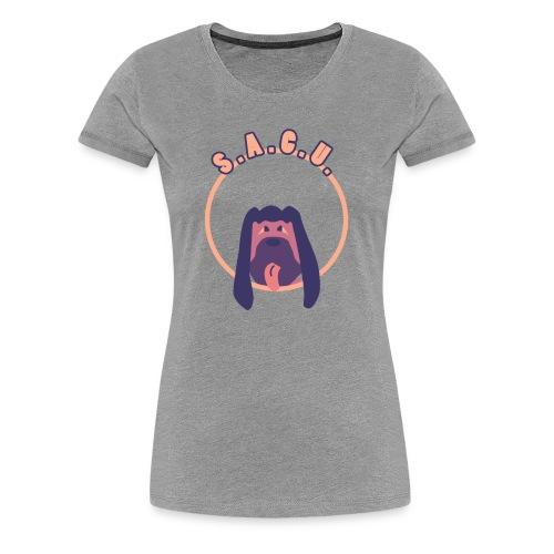 S.A.C.U. Logo Women's T-Shirt - Women's Premium T-Shirt