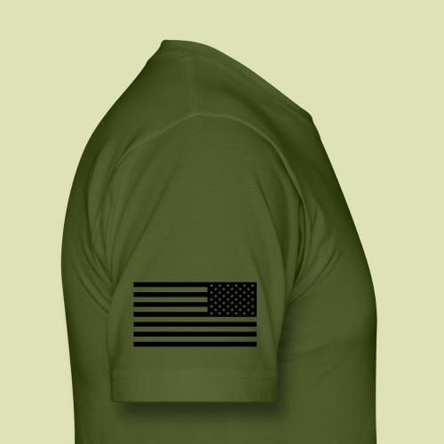 Black Scout Crest Shirt - Men's Fine Jersey T-Shirt