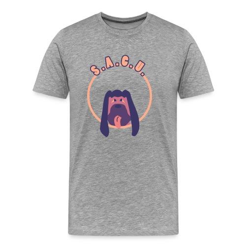 S.A.C.U. Logo Men's T-Shirt - Men's Premium T-Shirt