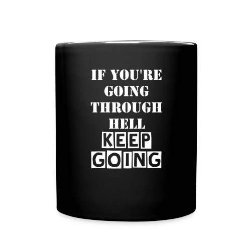 Keep going mug - Full Color Mug