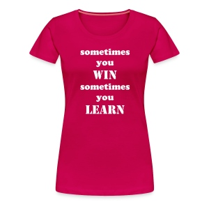 Live and learn t-shirt women - Women's Premium T-Shirt