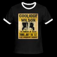 T-Shirts ~ Men's Ringer T-Shirt ~ Pulp Fiction: Coolidge vs. Wilson