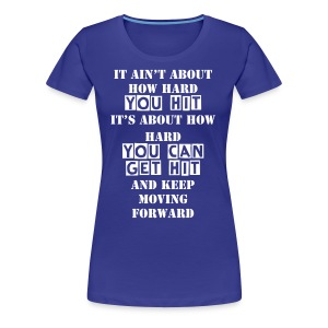 Keep moving forward t-shirt women - Women's Premium T-Shirt