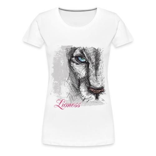 Lioness Signature Tee - Women's Premium T-Shirt