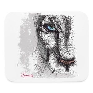 Lioness Mouse Pad - Mouse pad Horizontal