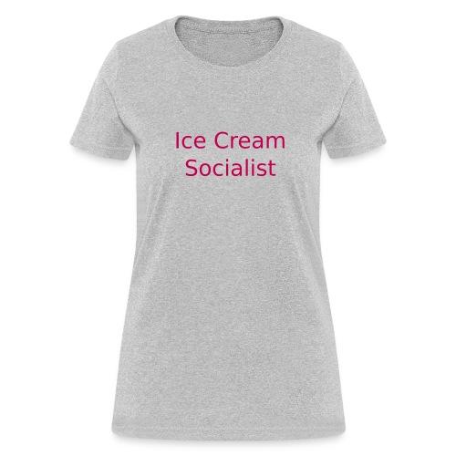 Ice Cream Socialist II (W) - Women's T-Shirt