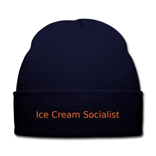 Ice Cream Socialist Knit Cap - Knit Cap with Cuff Print
