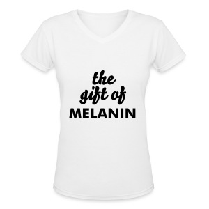 The Gift - Women's V-Neck T-Shirt